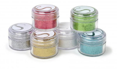 Silhouette glitter essential colors