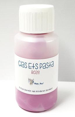 Glas ets pasta (roze)