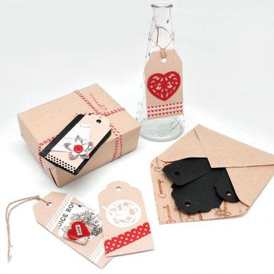 Vaessen Creative 3-in-1 label pons geschulpte rand