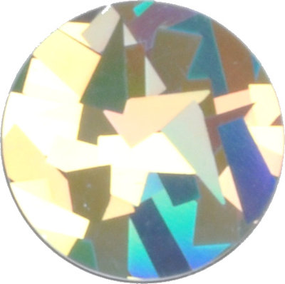 Holografisch crystal silver