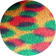 Holografisch rainbow spots