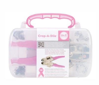 We R Memory Keepers Crop-A-Dile pink