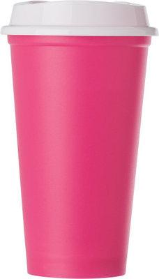 520ml kunststofbeker roze
