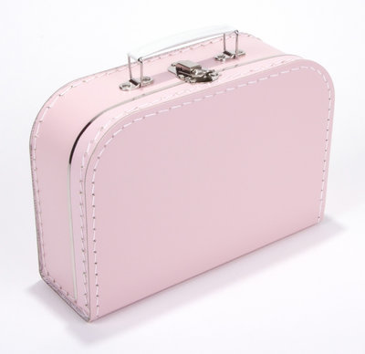 25cm koffertje baby roze