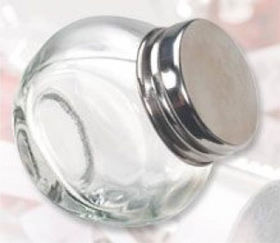Mini Snoeppot Glas