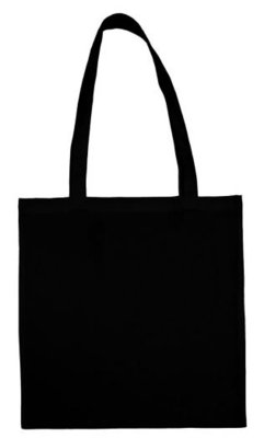 Cotton bag black