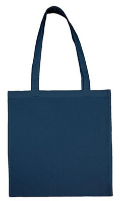 Cotton bag indigo blue