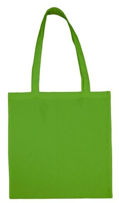 Cotton bag light green