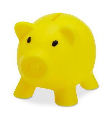 Spaarvarken geel