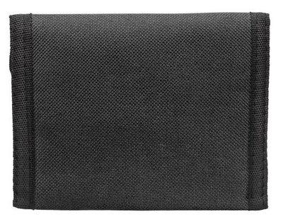 Polyester portemonnee zwart