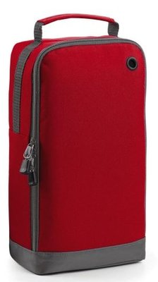 Sports shoe bag classic red