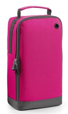 Sports shoe bag fuchsia
