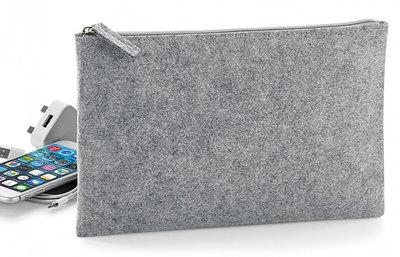 Accessoire buidel vilt grey melange