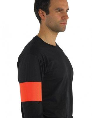 Fluor sport print armband red mt. L/XL