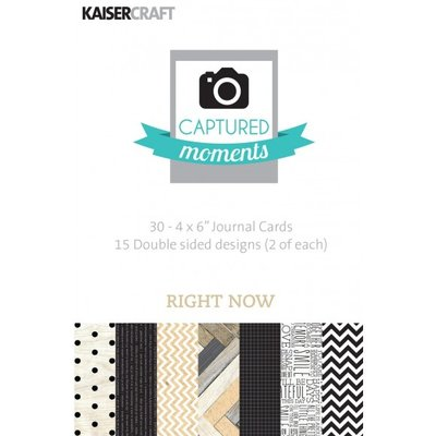 Kaisercraft Captured Moments - Right Now 4x6