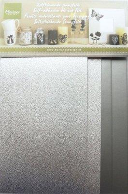 Marianne Design zelfklevende stansfolie zilver