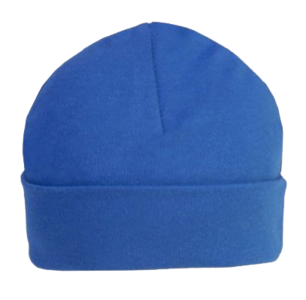 Baby Beanie/Mutsje Royal Blue