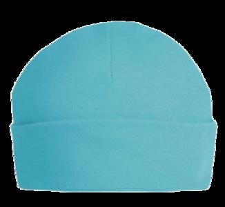 Baby Beanie/Mutsje Turquoise