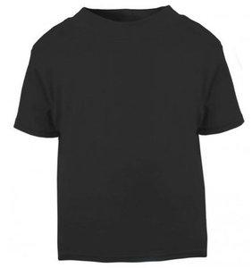 Baby & Kinder T-Shirt Zwart 0-3mnd