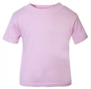 Baby & Kinder T-Shirt Licht Roze 0-3mnd