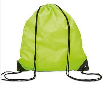 Gym/Zwem Tas Polyester Lime