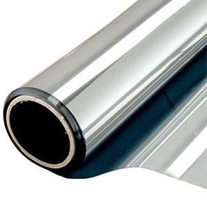 Statische Raamfolie Zilver