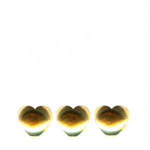 Confetti Hart 6mm Goud