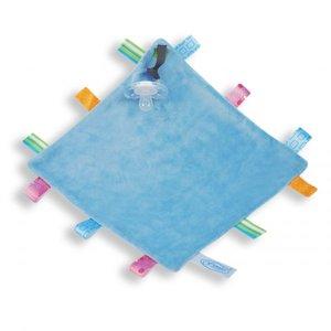Labeldoekje Speen Blauw