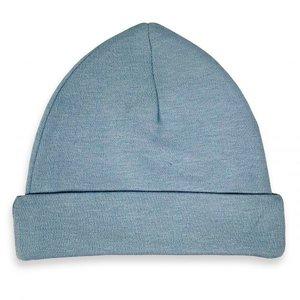 Baby Beanie/Mutsje Grey/Blue mt. 62-68