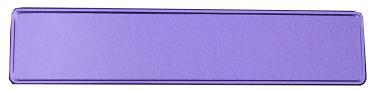 Glitter paars kentekenplaat