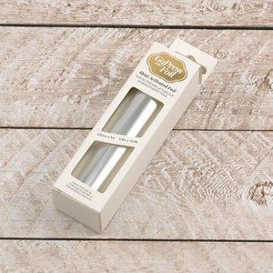 725351 Silver -matt- CC heat activated foil