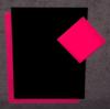Naambord-Luxe-roze-zwart-roze-ruitje